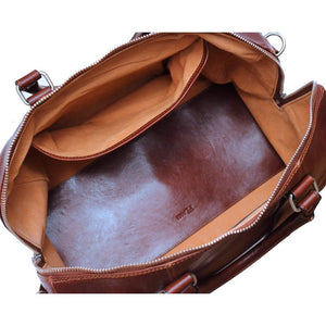 Super Tuscan Leather Duffle Bag Floto #2