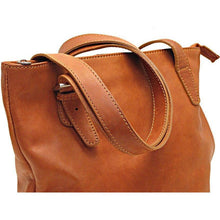 Load image into Gallery viewer, Italian Leather Shoulder Bag Women's Crossbody Floto Tavoli Brown 5
