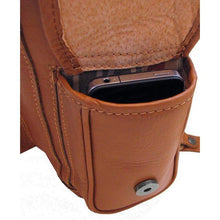 Load image into Gallery viewer, Leather backpack floto toscana brown 3