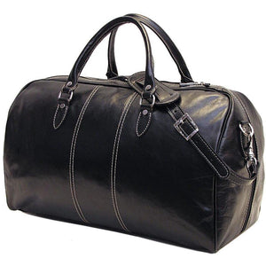 leather duffle bag floto venezia