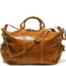 Load image into Gallery viewer, Floto Italian Leather Venezia Travel Tote Bag Duffle Luggage