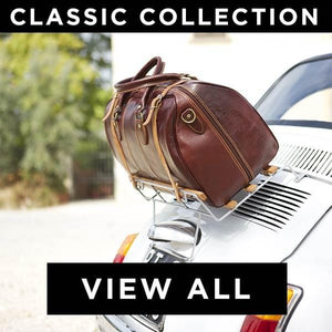 Floto Classic Italian Leather Travel Duffle Bags