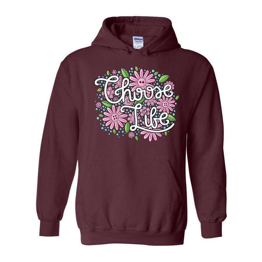 Choose Life Hoodie - LifeCulture Apparel pro life shirts