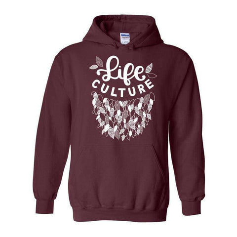 LifeCulture Leaves Hoodie - LifeCulture Apparel pro life shirts