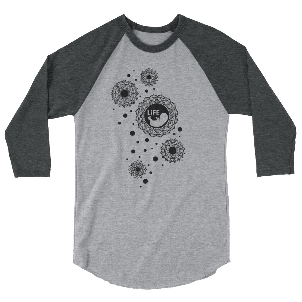 Life Bubble Raglan Tee - LifeCulture Apparel pro life shirts