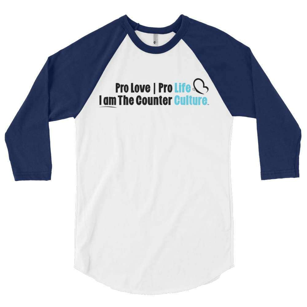 Counter Culture Raglan T-Shirt - LifeCulture Apparel pro life shirts