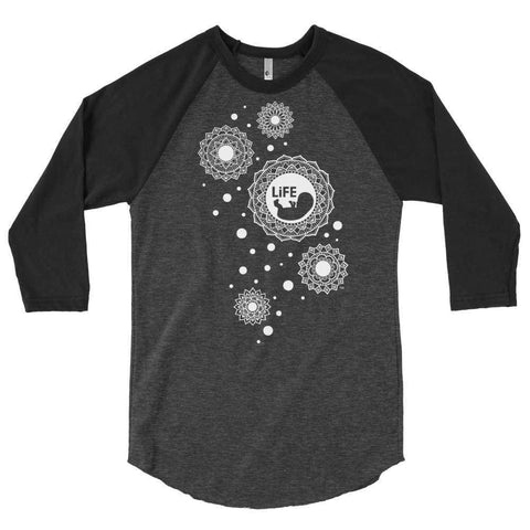 Life Bubble Raglan T-Shirt - LifeCulture Apparel pro life shirts