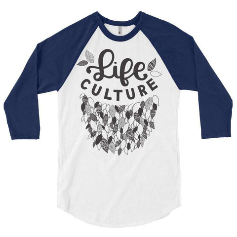 LifeCulture Leaves Raglan T-Shirt - LifeCulture Apparel pro life shirts