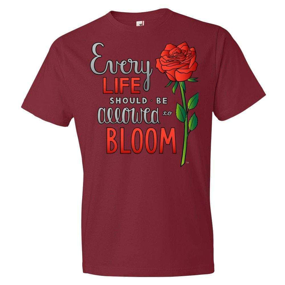 Bloom T-Shirt - LifeCulture Apparel pro life shirts