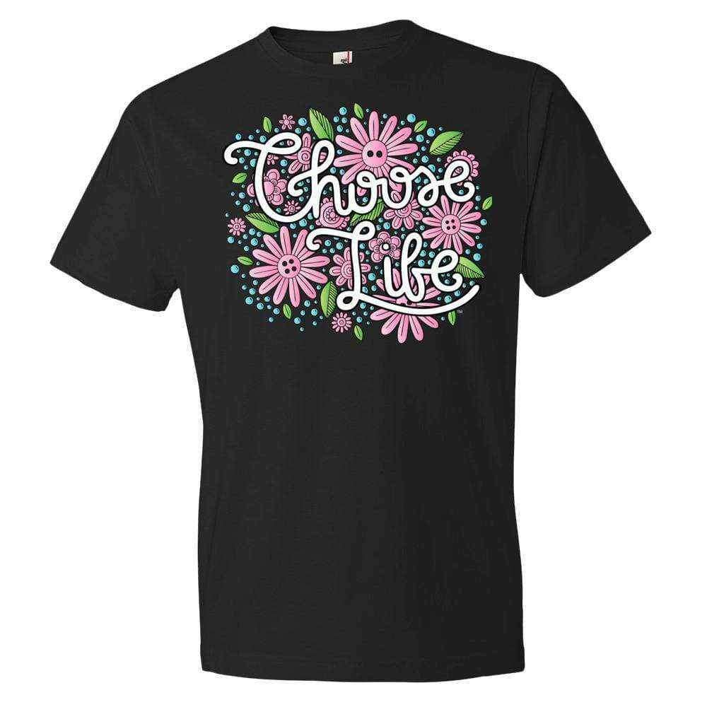 Choose Life T-Shirt - LifeCulture Apparel pro life shirts