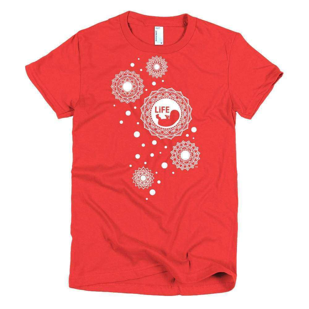 Life Bubble Young Women's Slim T - LifeCulture Apparel pro life shirts