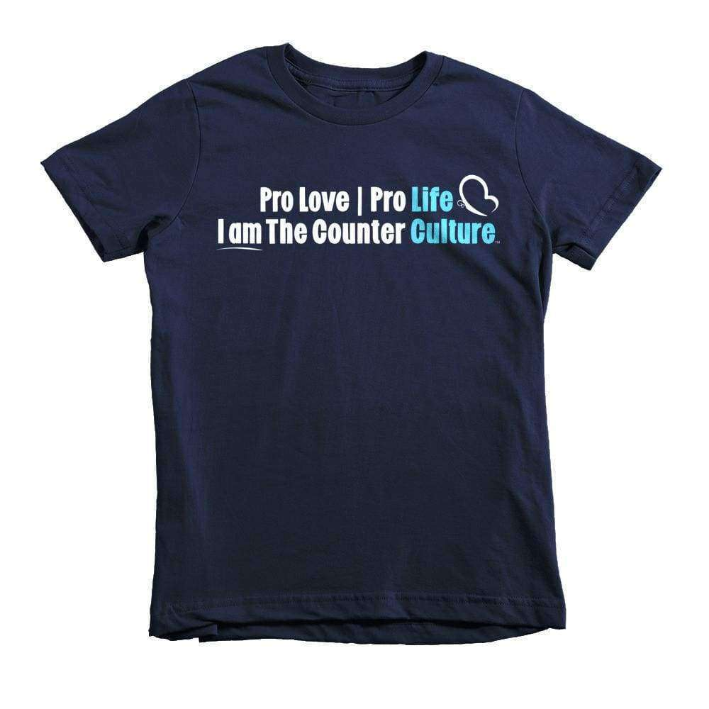 Counter Culture Youth T-Shirt - LifeCulture Apparel pro life shirts