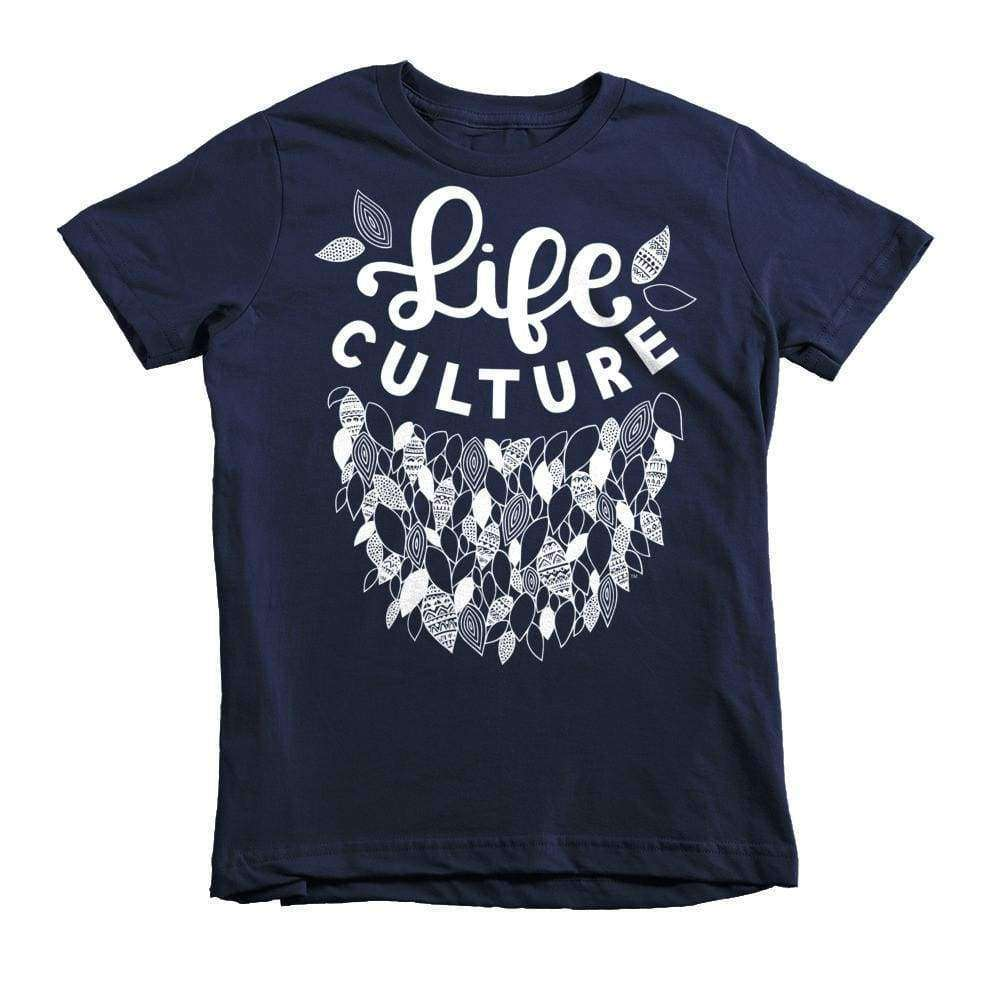 LifeCulture Leaves Youth T-Shirt - LifeCulture Apparel pro life shirts