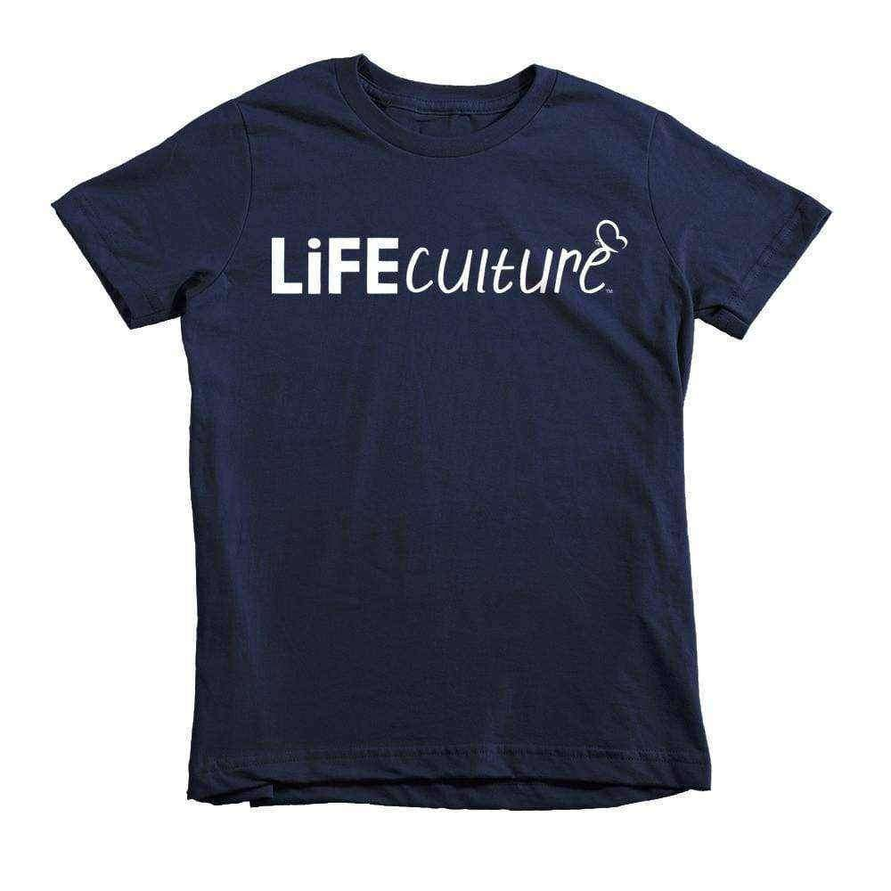 LifeCulture Logo Youth T-Shirt - LifeCulture Apparel pro life shirts