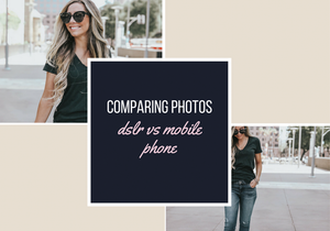 Comparing Mobile and DSLR Photos With Presets