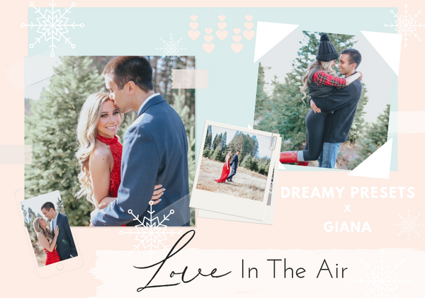 Love In The Air Holiday Photoshoot