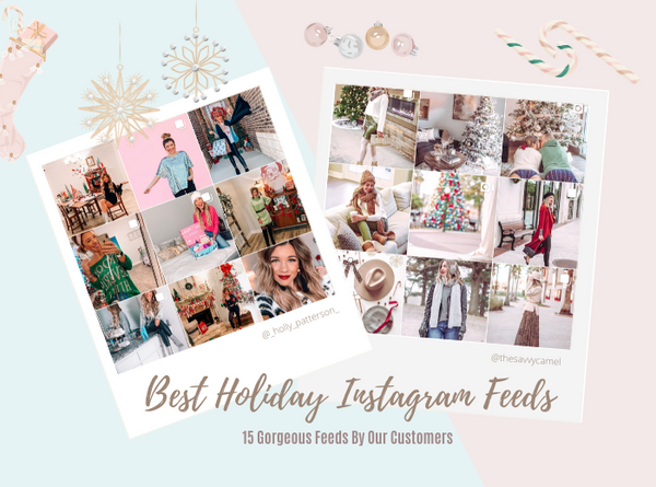 Holiday Instagram Feeds We Love!