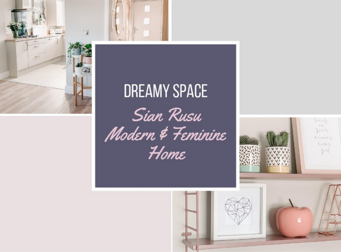 Dreamy Space | Meadow Grey's Modern & Feminine Space