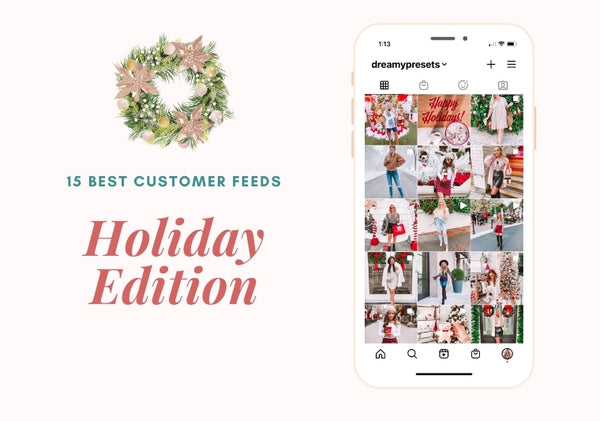 15 Best Customer Holiday Feeds