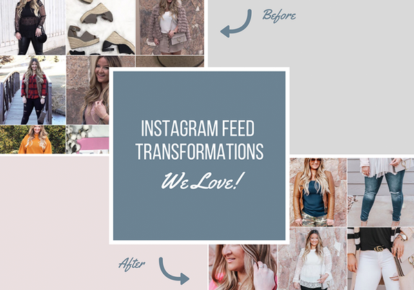 Customer Instagram Feed Transformations We Love