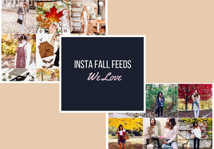 Instagram Fall Feeds We Love