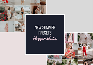 Summer Lightroom Preset Blogger Photos