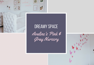 Dreamy Space | Baby Girl Sweet Rustic Nursery