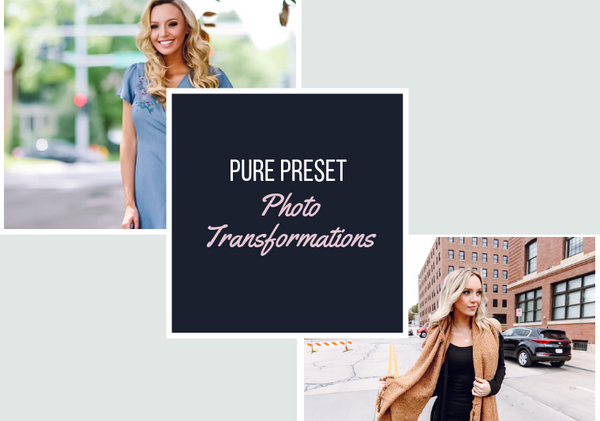 Pure Preset Photo Transformations