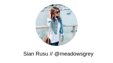 Sian Rusu Meadows Grey