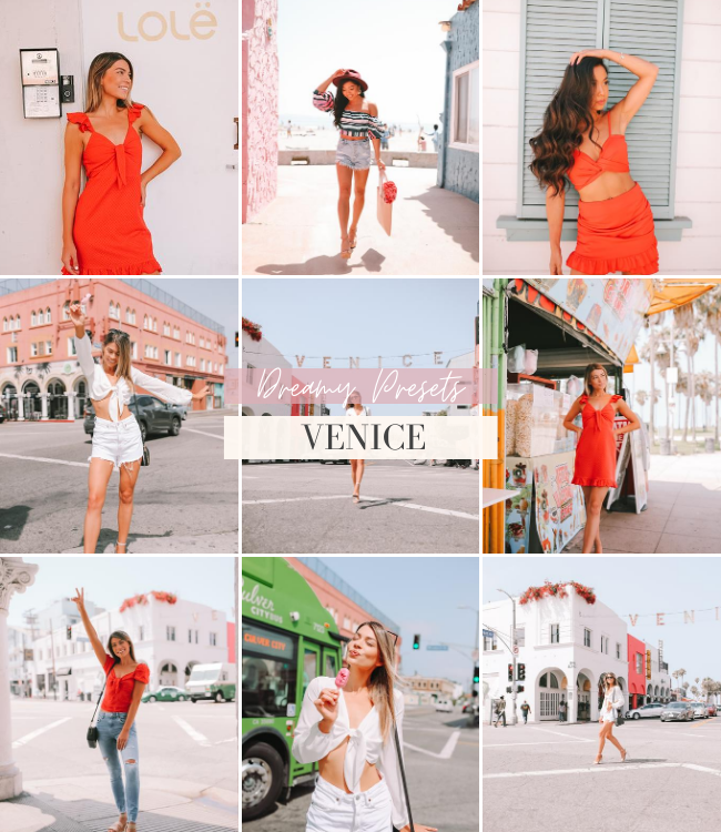 Influencer Travel Mobile Lightroom Preset Pack