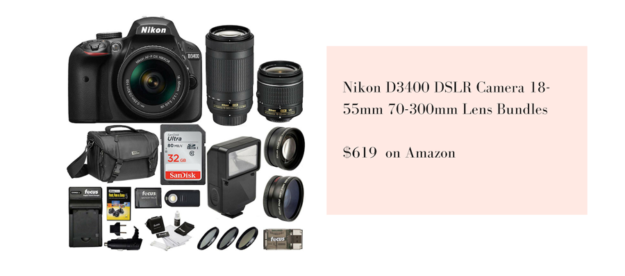 nikon professional camera bundle for new photographers