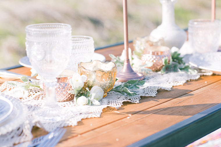 pretty boho styled shoot