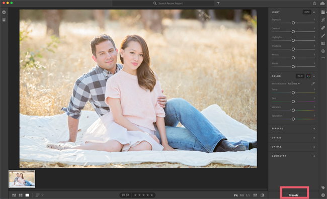 how to install Lightroom Presets CC