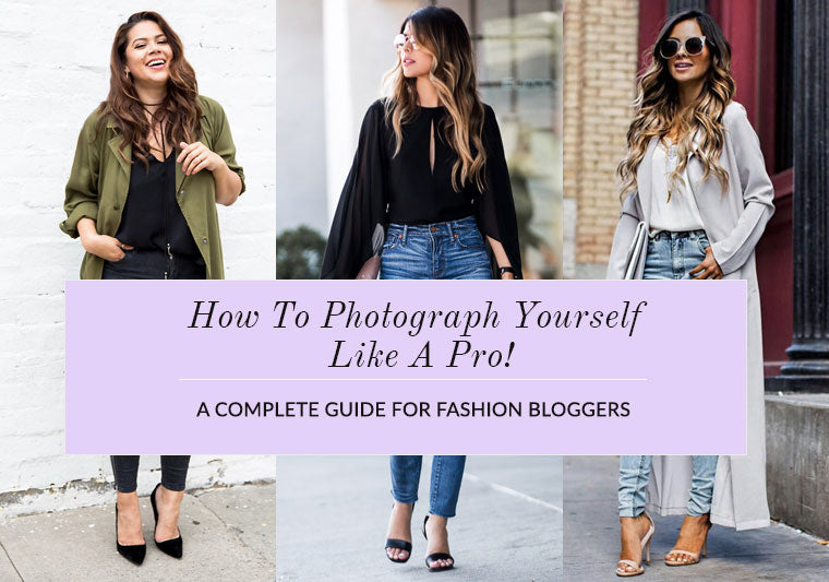 how to photography yourself like a pro