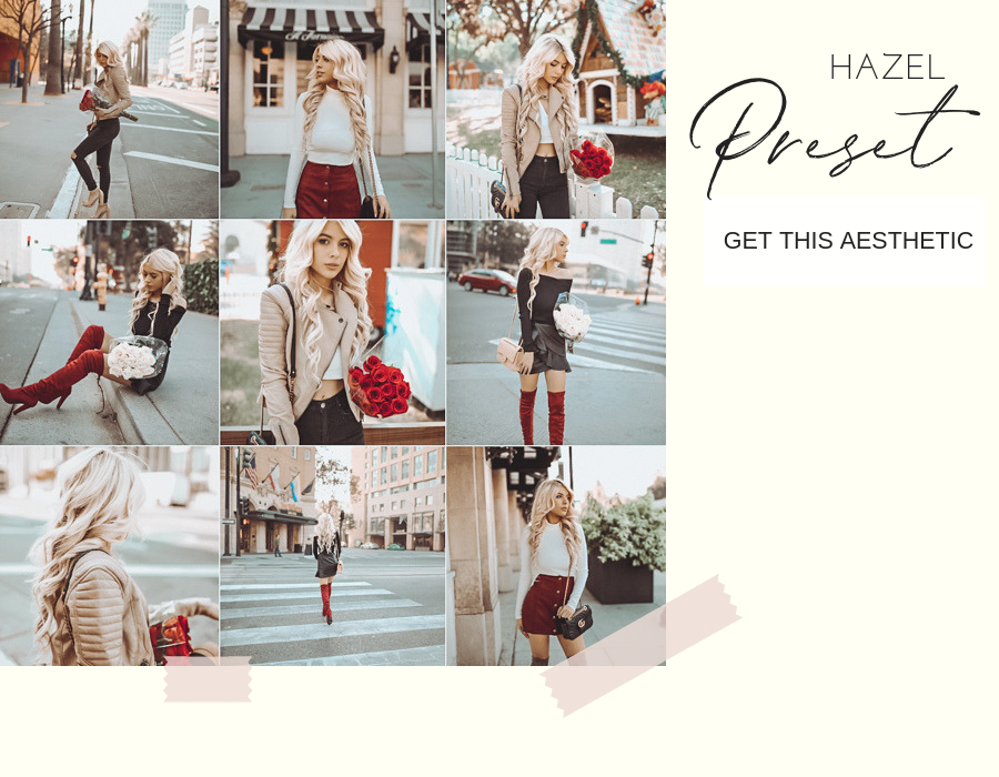 instagram presets holiday lookbook