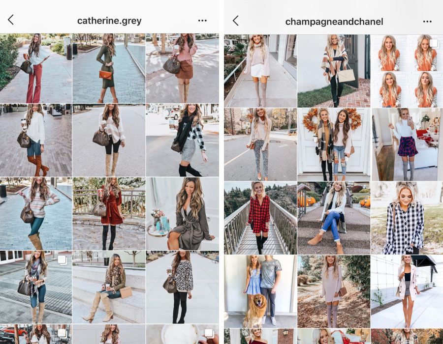 instagram presets fall feeds