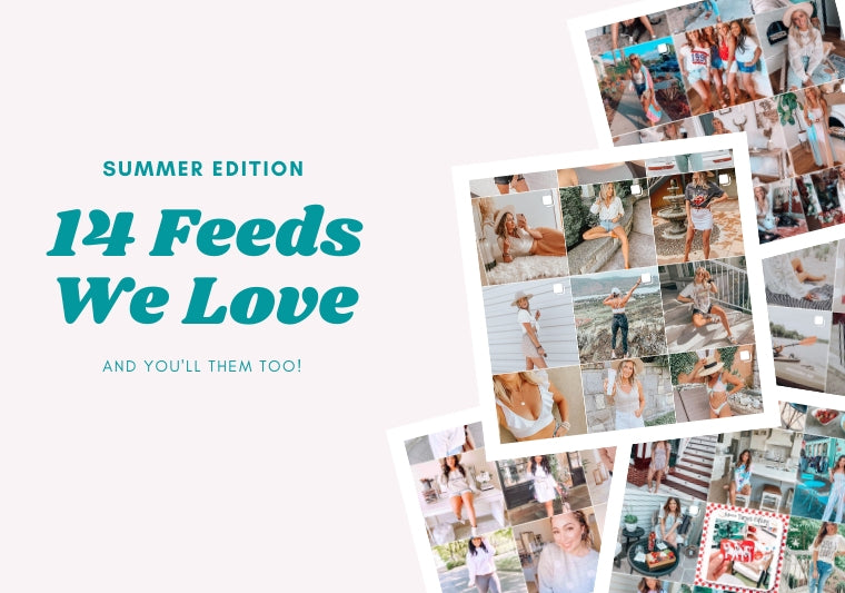Summer Instagram Feeds We Love