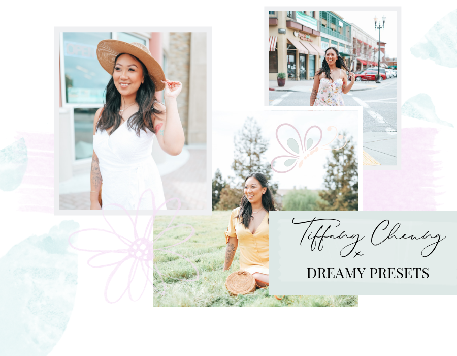 instagram presets, dreamy presets, blogger photoshoot, tiffany cheung, lightroom mobile presets, spring outfits