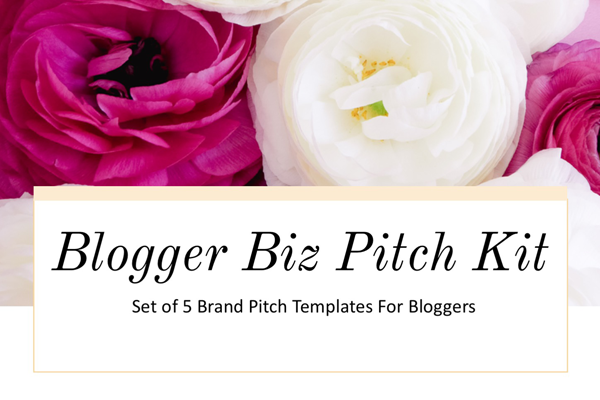 Business Brand Pitch Email Templates For Bloggers