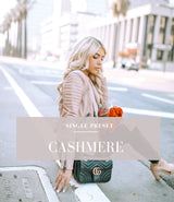 Cashmere Lightroom Preset