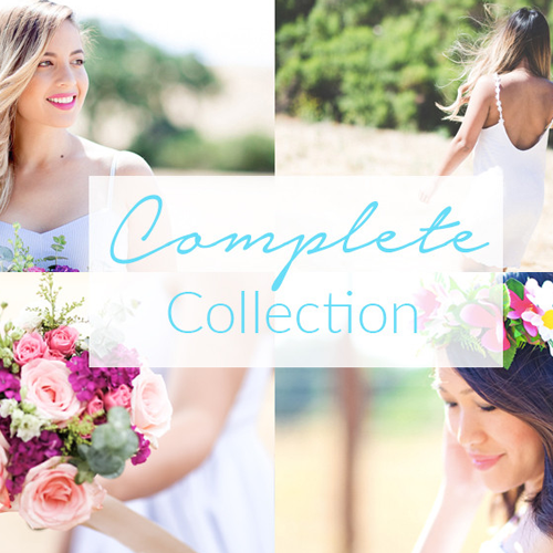 Complete signature lightroom preset collections