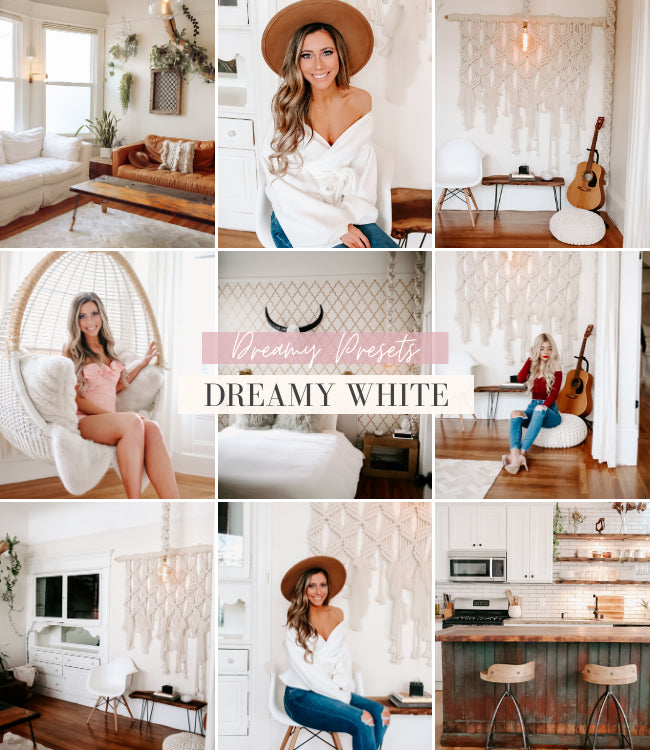 Interior Lightroom Presets | Dreamy White
