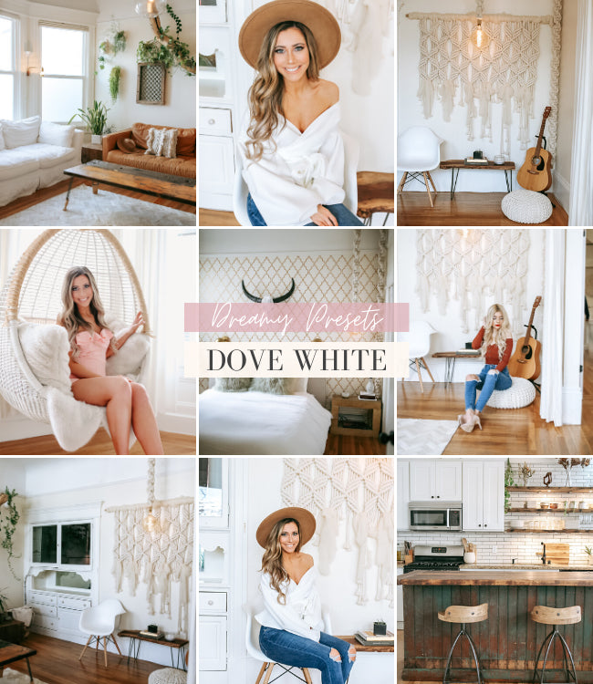 Interior Lightroom Presets | Dove White