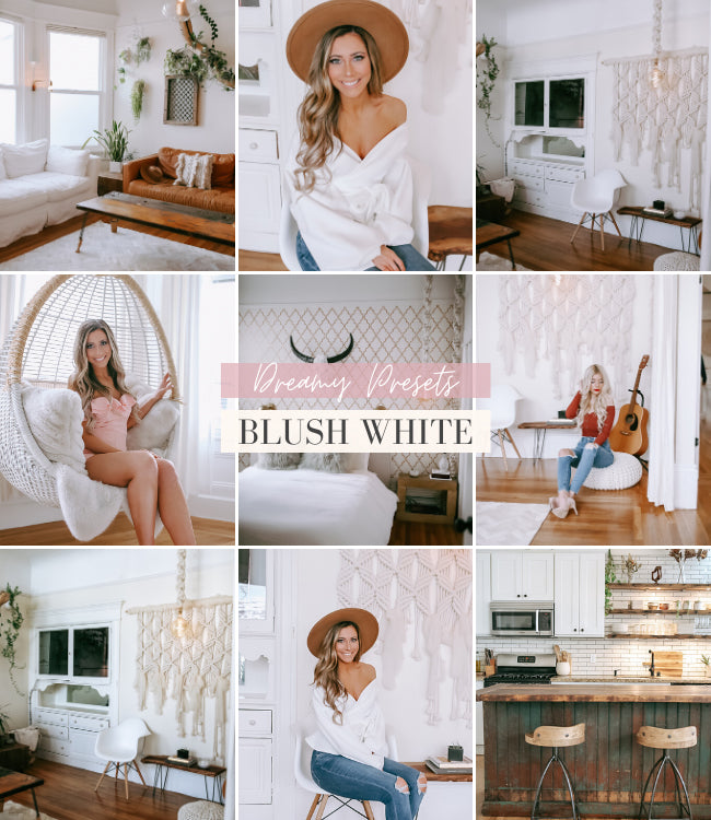 Interior Lightroom Presets | Blush White