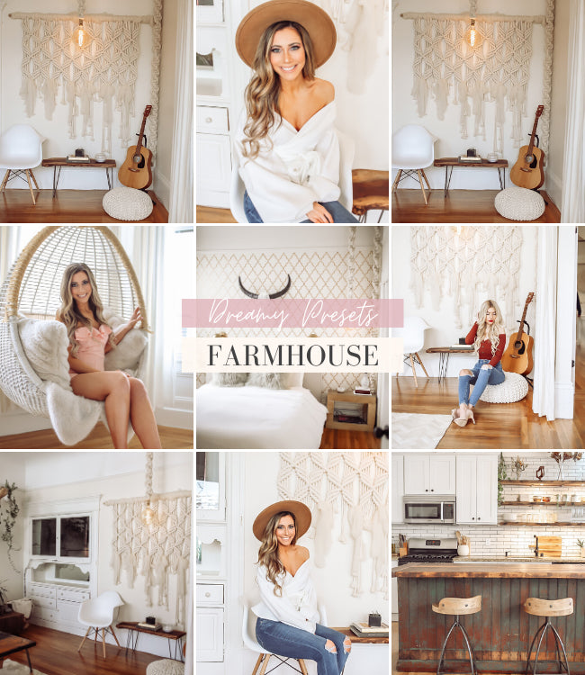 Interior Lightroom Presets | Farm House