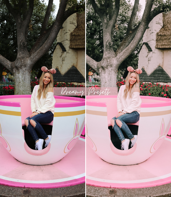 Dreamy Magical Disney-Inspired Mobile Lightroom Preset Pack