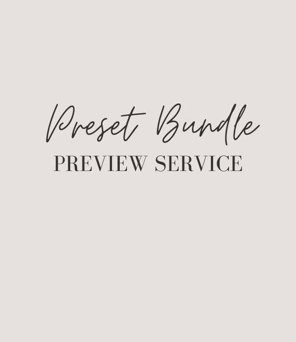 Bundle Preset Preview Service