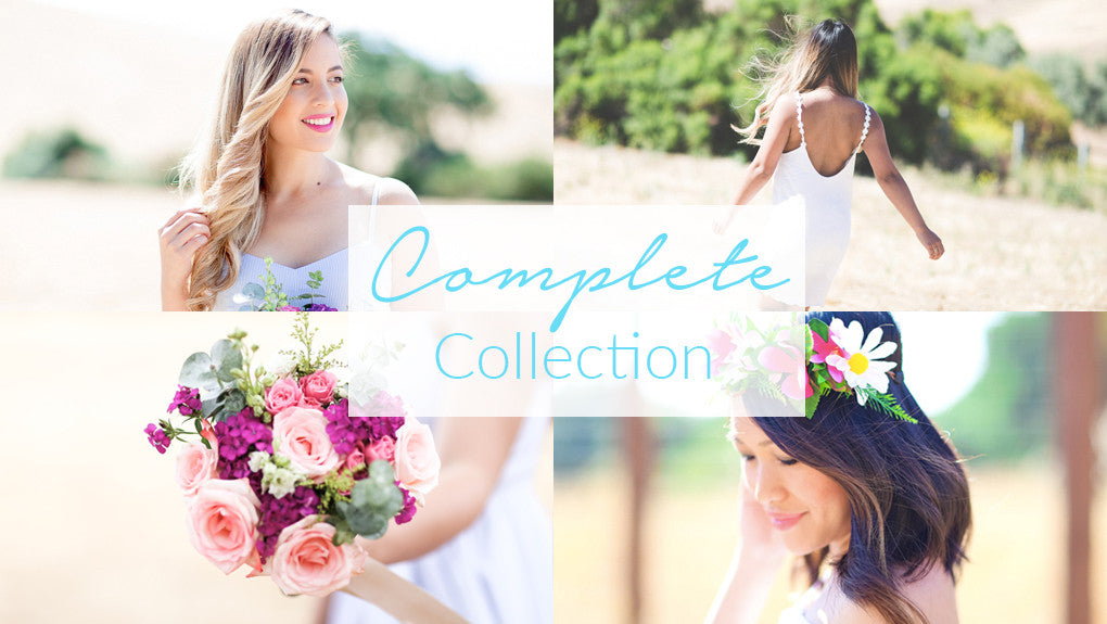 The complete signature lightroom preset collection