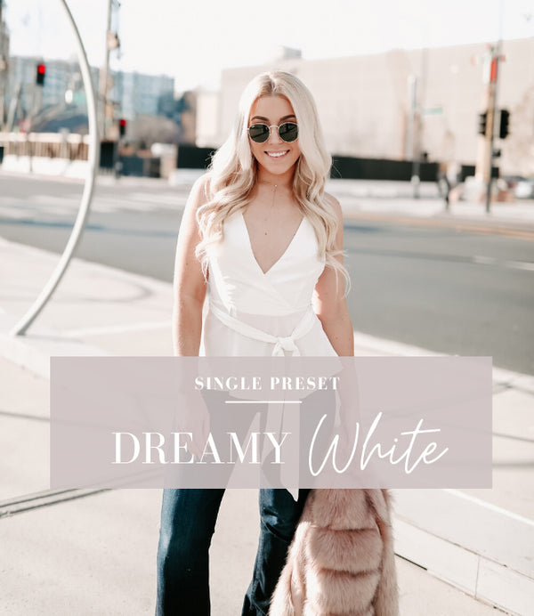 Dreamy White Lightroom Preset