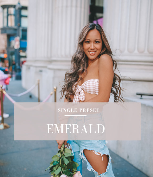 Emerald Lightroom Preset | Blogger Preset